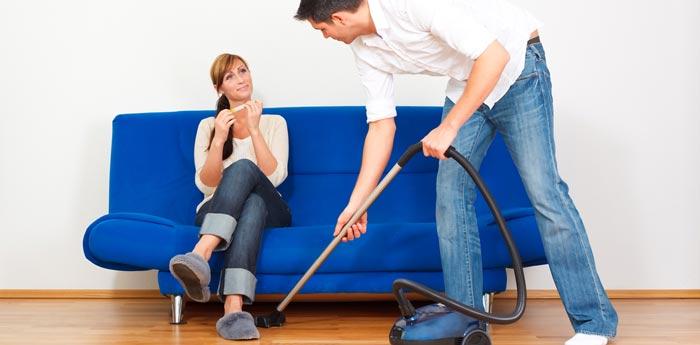 Ne jamais faire le ménage